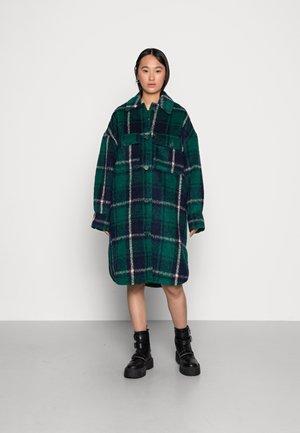 NEJLA JACKET - Classic coat - green/blue