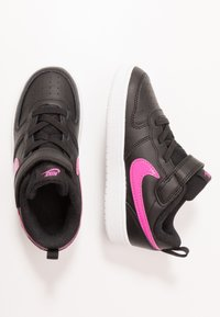 Nike Sportswear - COURT BOROUGH 2 UNISEX - Zapatillas - photon dust/lemon/iced lilac/black - 0