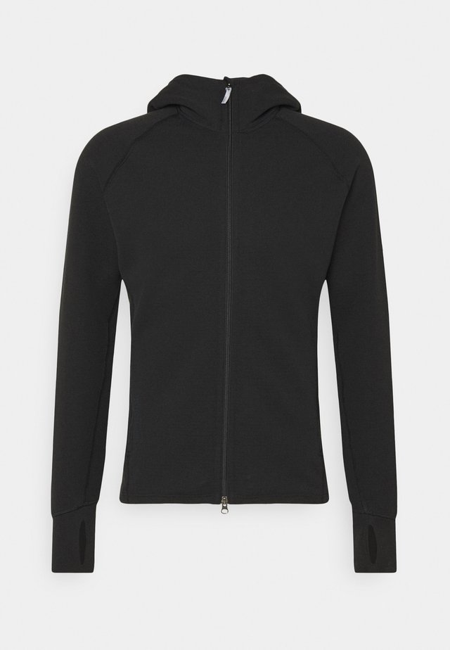 MONO AIR HOUDI - Zip-up hoodie - true black