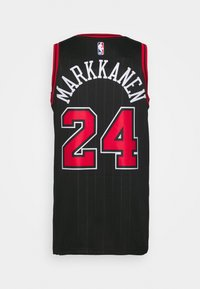 Nike Performance - NBA CHICAGO BULLS LAURI MARKKANEN SWINGMAN - Article de supporter - black/markkanen lauri - 1