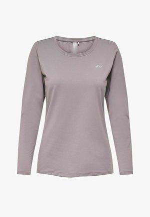 ONPCLARISSA TRAINING  - Sports shirt - gray ridge