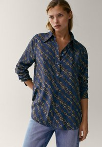 Massimo Dutti - Button-down blouse - multi-coloured - 0