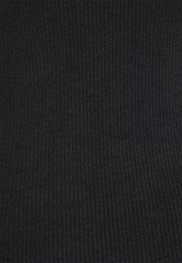 Gina Tricot - JOLINE ONE SHOULDER DRESS - Jersey dress - black - 5