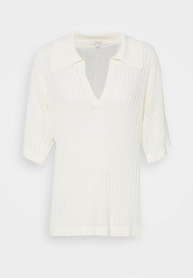 SELENA - T-shirt imprimé - vanilla