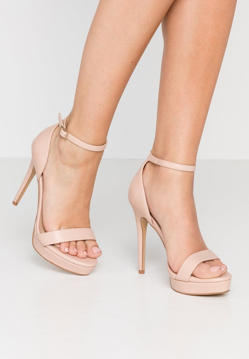 ALDO - VARALITH - High heeled sandals - bone
