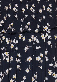 PIECES Tall - PCMARIGOLD MIDI DRESS - Day dress - sky captain/white - 6