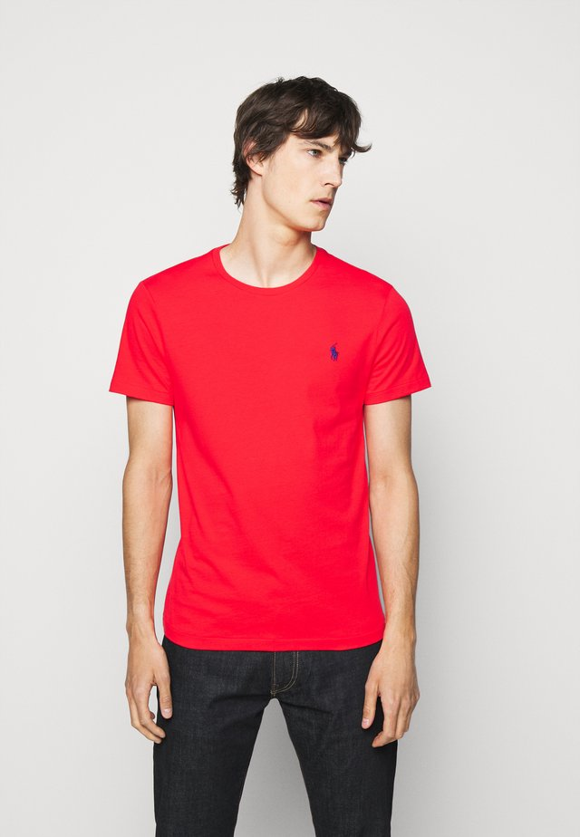 SHORT SLEEVE - Basic T-shirt - racing red