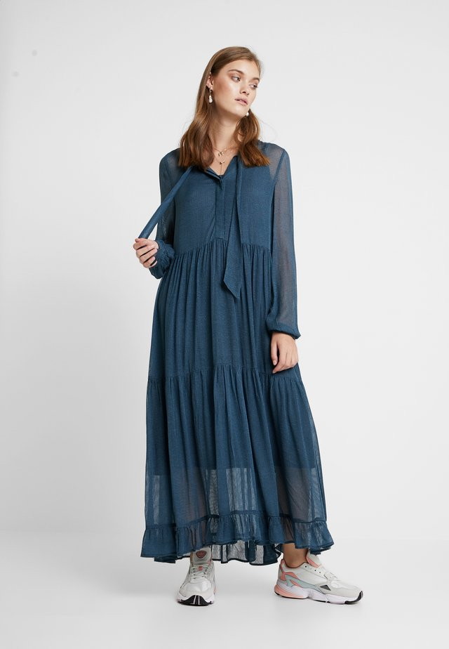 PANCRA DRESS - Maxi-jurk - orion blue