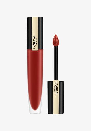ROUGE SIGNATURE - Liquid lipstick - 115 i am worth it