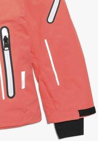 Reima - FROST - Snowboard jacket - bright salmon - 3
