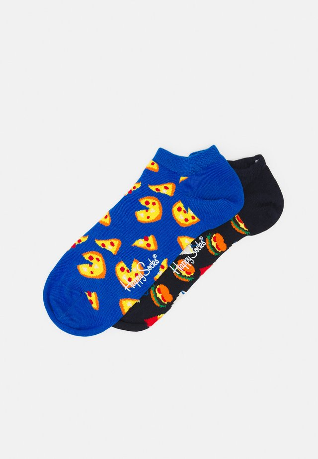 JUNK FOOD LOW SOCK UNISEX 2 PACK - Sukat - multi