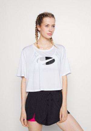 ONE PLUS - T-shirt imprimé - white/black