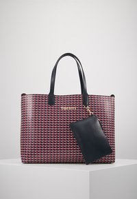 Tommy Hilfiger - ICONIC TOTE MONO - Tote bag - red - 5