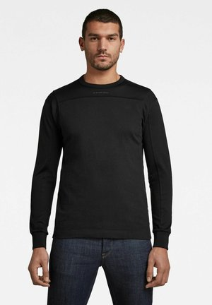 Långärmad tröja - dk black