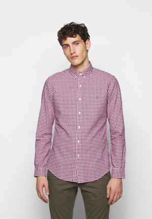 OXFORD - Shirt - wine/white