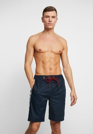 SIDE PANEL BOARD SHORT - Swimming shorts - darkest navy