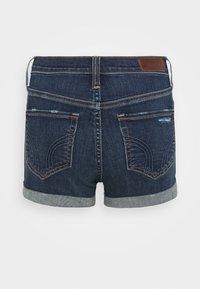 Hollister Co. - Denim shorts - dark dest - 6