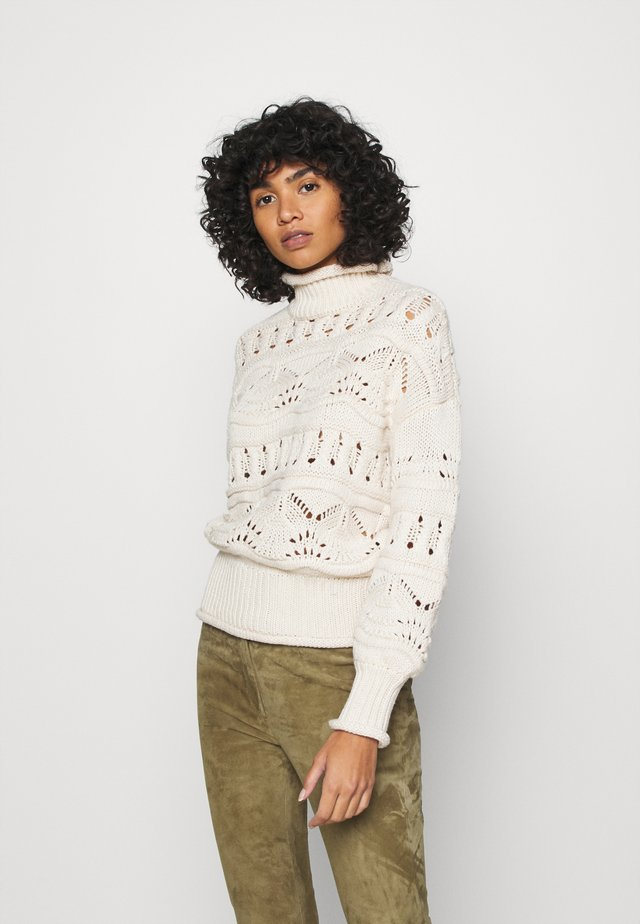 VMPOLL HIGHNECK - Jumper - birch