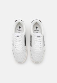 Faguo - HAZEL UNISEX - Sneakersy niskie - white/black - 3