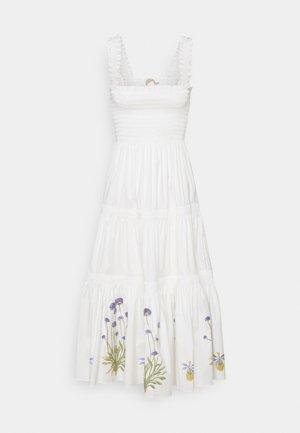 SMOCKED DRESS - Kjole - new ivory