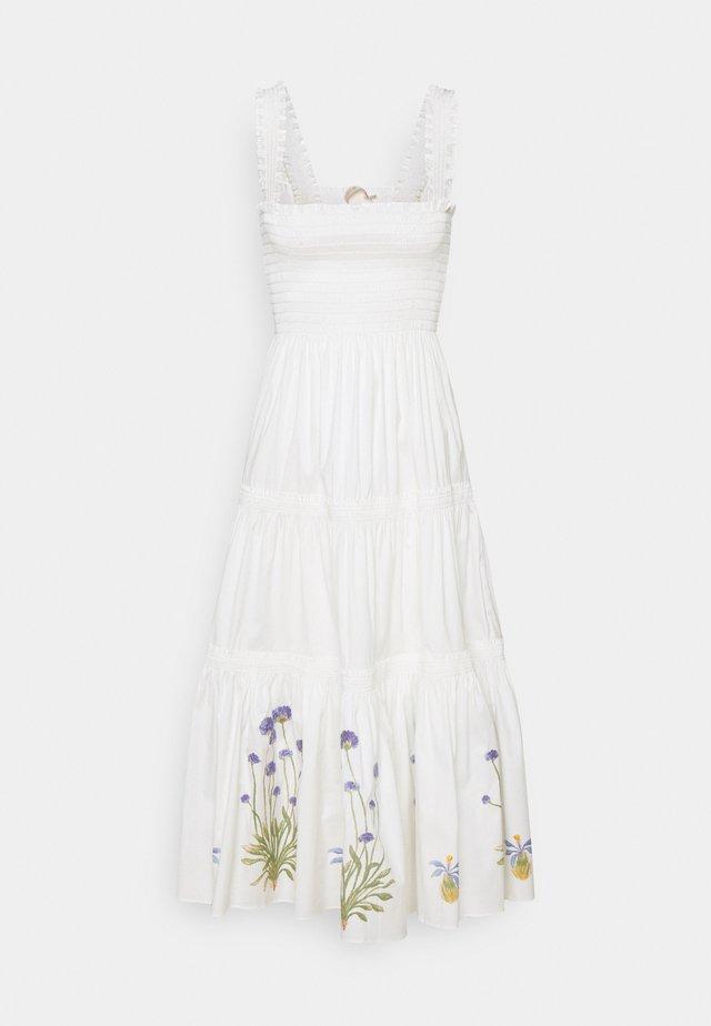 SMOCKED DRESS - Robe d'été - new ivory