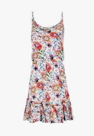 SUBLEVEL SOMMER  ELASTISCHER BU - Day dress - weiss