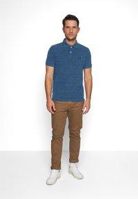 Superdry - Polo shirt - montana blue grit - 1