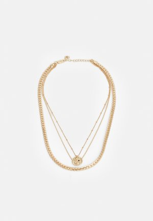 PCBLANCA COMBI NECKLACE - Ketting - gold-coloured/black