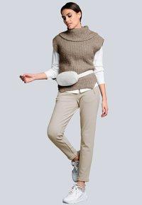 Alba Moda - Tracksuit bottoms - beige - 1