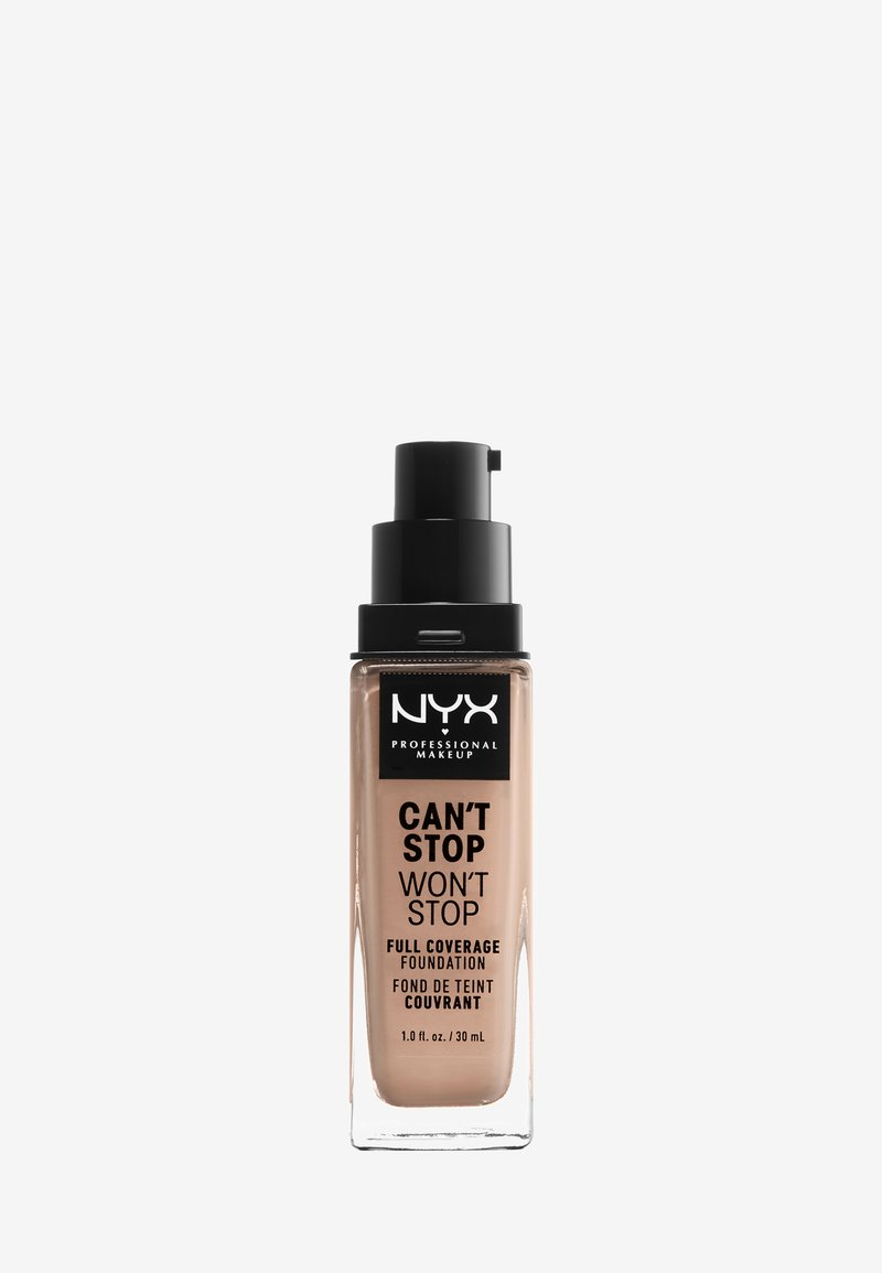 Nyx Professional Makeup - CAN'T STOP WON'T STOP FOUNDATION - Foundation - 3 porcelain