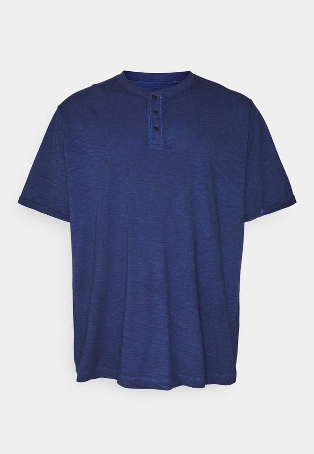 KURZARM - Camiseta estampada - blue