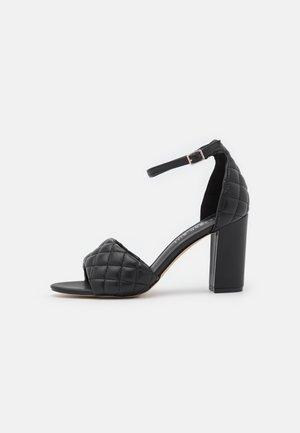 BLENND - High heeled sandals - black paris