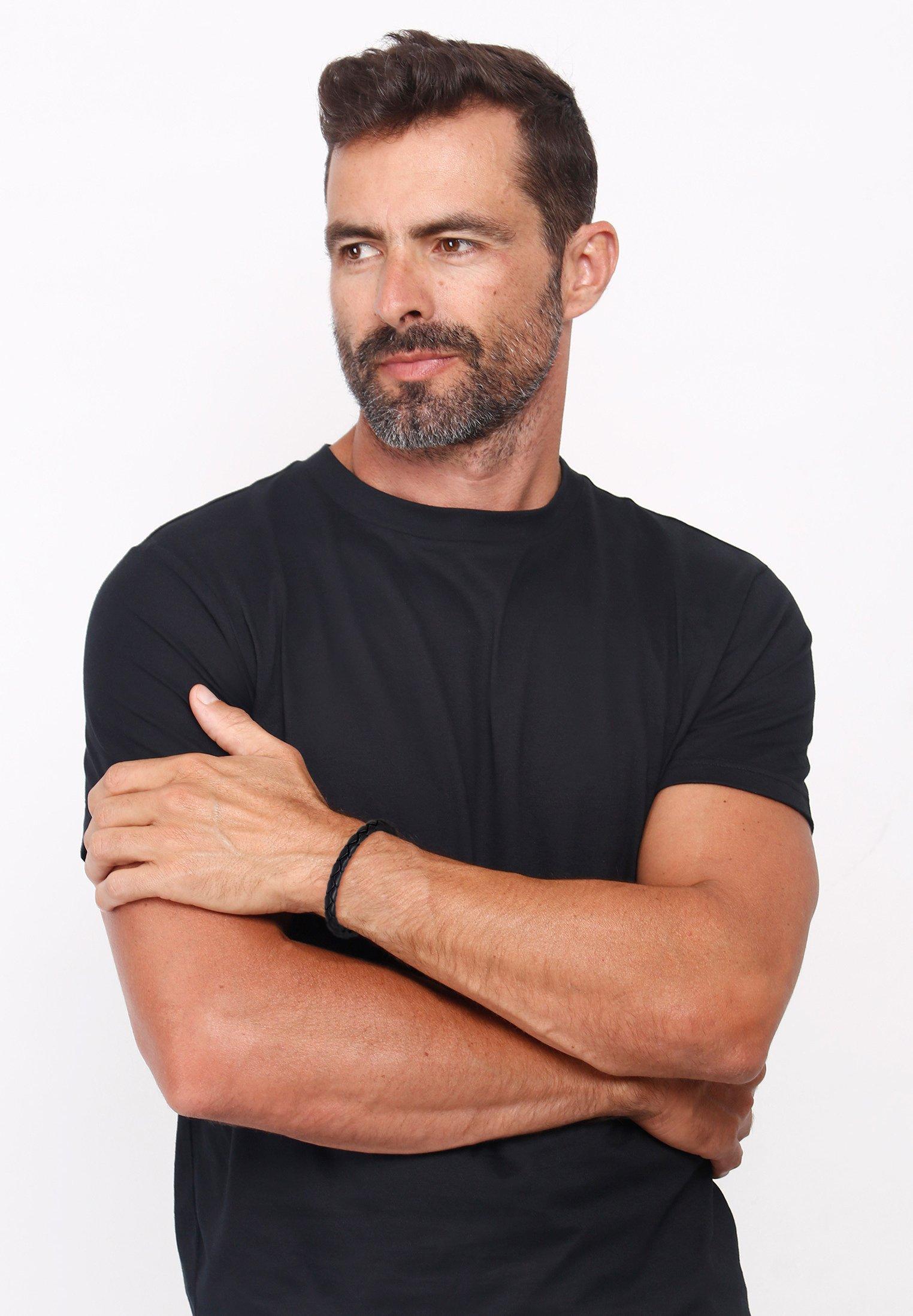 Homme LEDER ARMBAND  - Bracelet