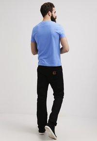 GANT - ORIGINAL SLIM V NECK - T-shirt - bas - pacific blue - 2