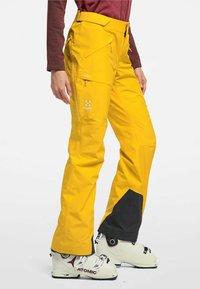 Haglöfs - LUMI FORM PANT - Snow pants - pumpkin yellow - 2