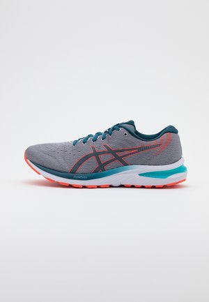 GEL CUMULUS 22 - Neutral running shoes - piedmont grey/magnetic blue