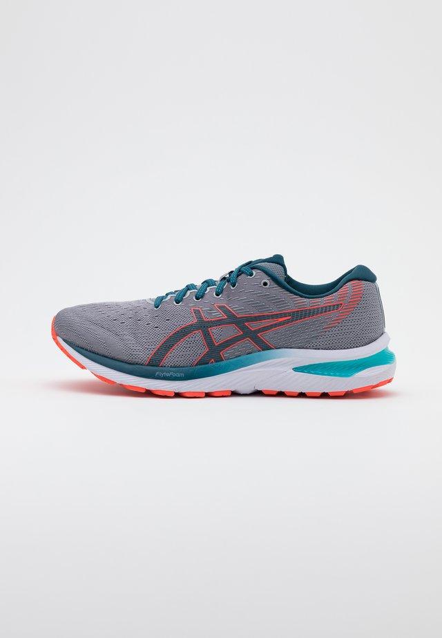 GEL CUMULUS 22 - Neutral running shoes - piedmont grey/magnetic blue