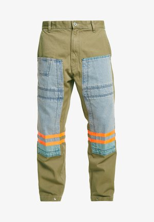 P-CARUSO TROUSERS - Trousers - camel