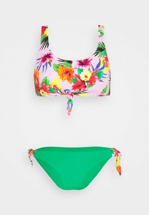 NOUOBENTA PAPAYAS SET - Bikini - rose