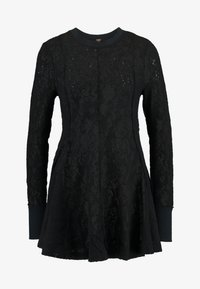 Free People - COFFEE IN THE MORNING - Long sleeved top - black - 4