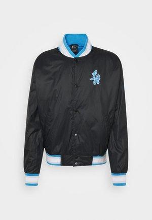 NBA LOS ANGELES LAKERS CITY EDITION JACKET - Klubové oblečení - black/coast