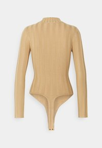 Missguided Petite - EXTREME HIGH NECK BODY - Body - camel - 1