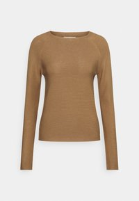 Marc O'Polo DENIM - LONG SLEEVE CREW NECK - Jumper - milky coffee - 0