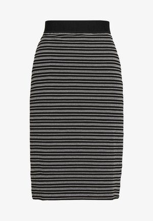 NILLANE - Pouzdrová sukně - black