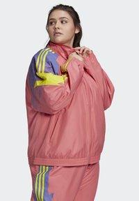 adidas Originals - FAKTEN ORIGINALS JACKE – GROSSE GRÖSSEN - Training jacket - pink - 2