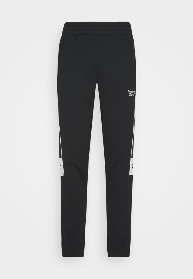 LINEAR PANT - Tracksuit bottoms - black
