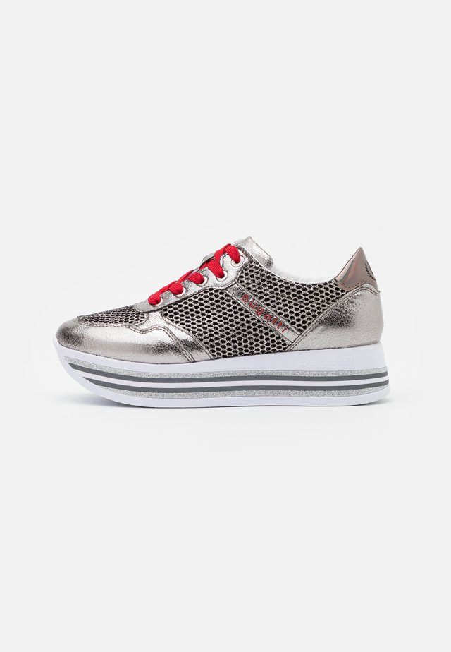 LIAN - Zapatillas - grey metallics