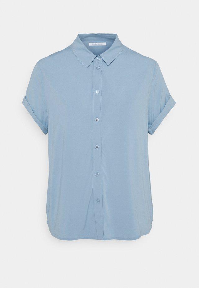 MAJAN - Overhemdblouse - dusty blue