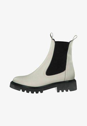 Classic ankle boots - ivory/transpar