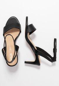 Clarks - AMALI JEWEL - Sandals - black - 3